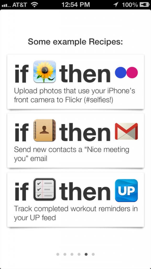 Use IFTTT to automate your life. Really cool tool.